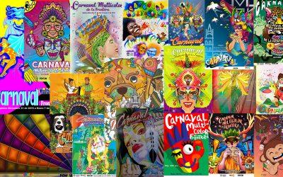 18 propuestas se inscribieron en el concurso del afiche promocional del Carnaval 2019-2020