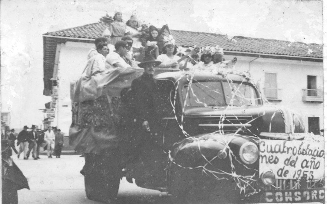 Génesis del Carnaval Andino de Negros y Blancos en Nariño