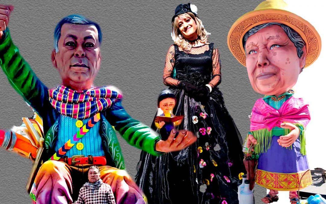 El Desfile de Años Viejos y Viudas, Cerrará la Tradicional Senda del Carnaval Multicolor de la Frontera.