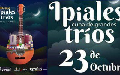 XIII FESTIVAL INTERNACIONAL IPIALES CUNA DE GRANDES TRIOS.