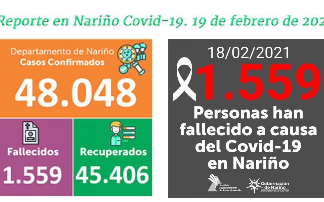 Ipiales no presenta nuevos contagios, pero informa de 2 muertes por Covid-19