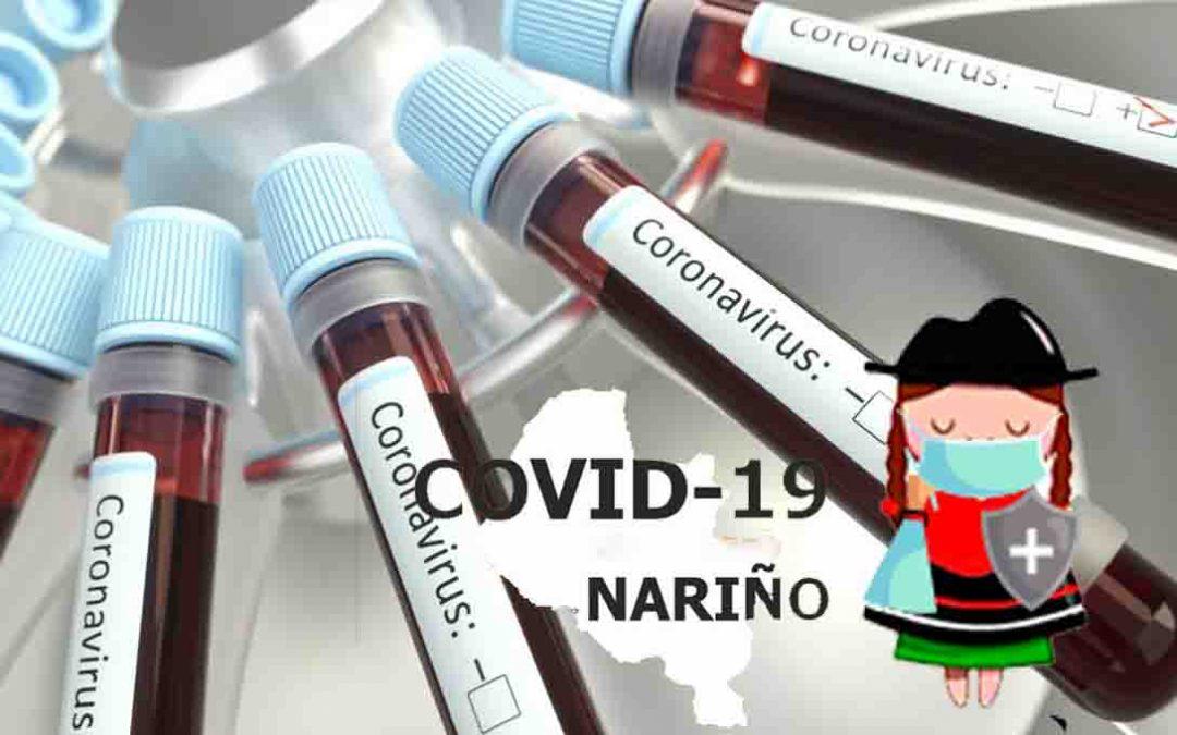 En Nariño 1.125 casos activos, 140 nuevos positivos e Ipiales reporta el único deceso por la Covid-19