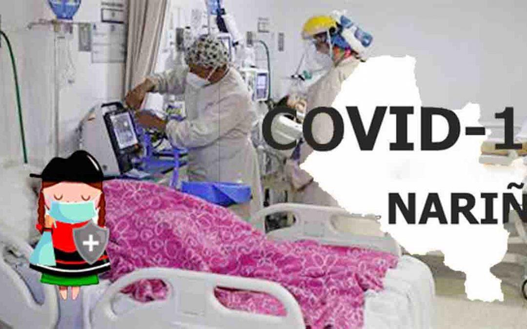 Aunque bajó la curva de contagios, Nariño está en el 74.5% de ocupación de camas UCI.