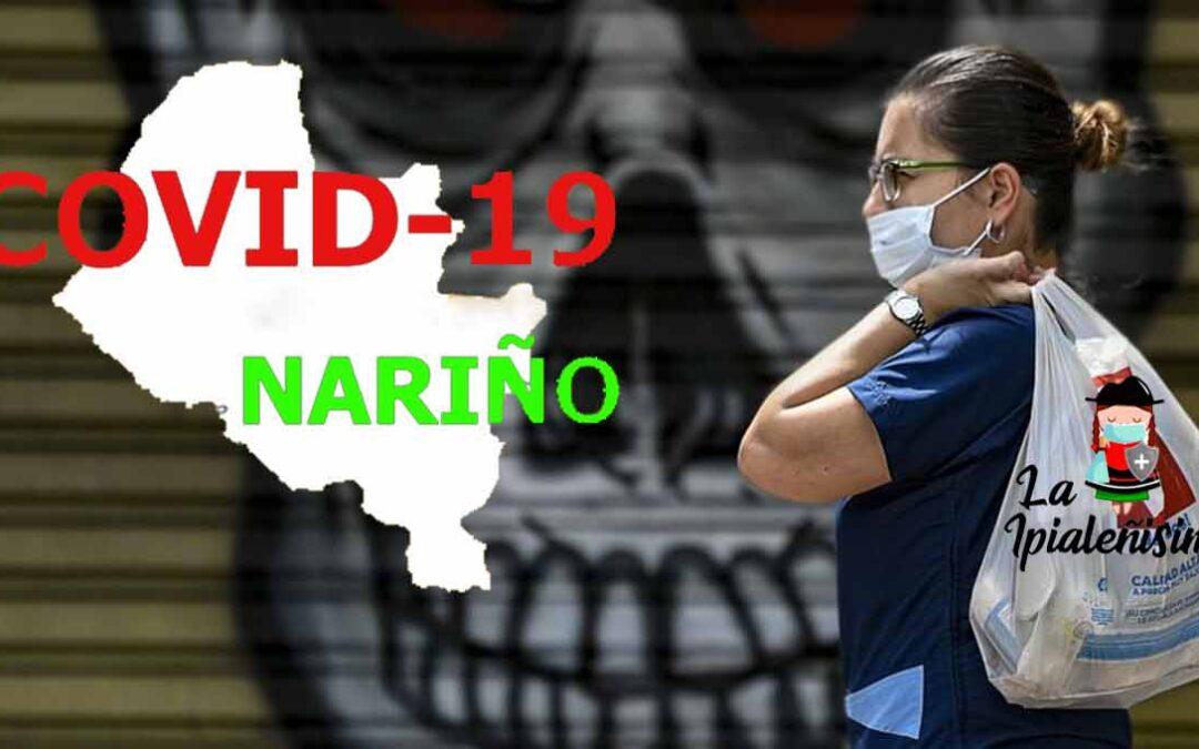 Nariño rebasó los 77.000 contagios, 68.789 e Ipiales reportó 7 fallecidos por la Covid-19.