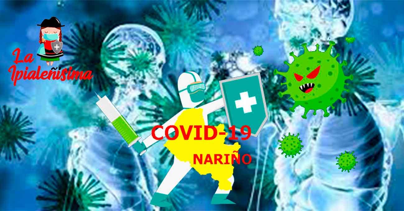 Nariño registra la cifra más baja sobre nuevos contagios en los últimos meses.