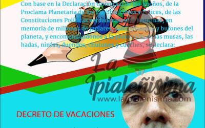 DECRETO DE VACACIONES