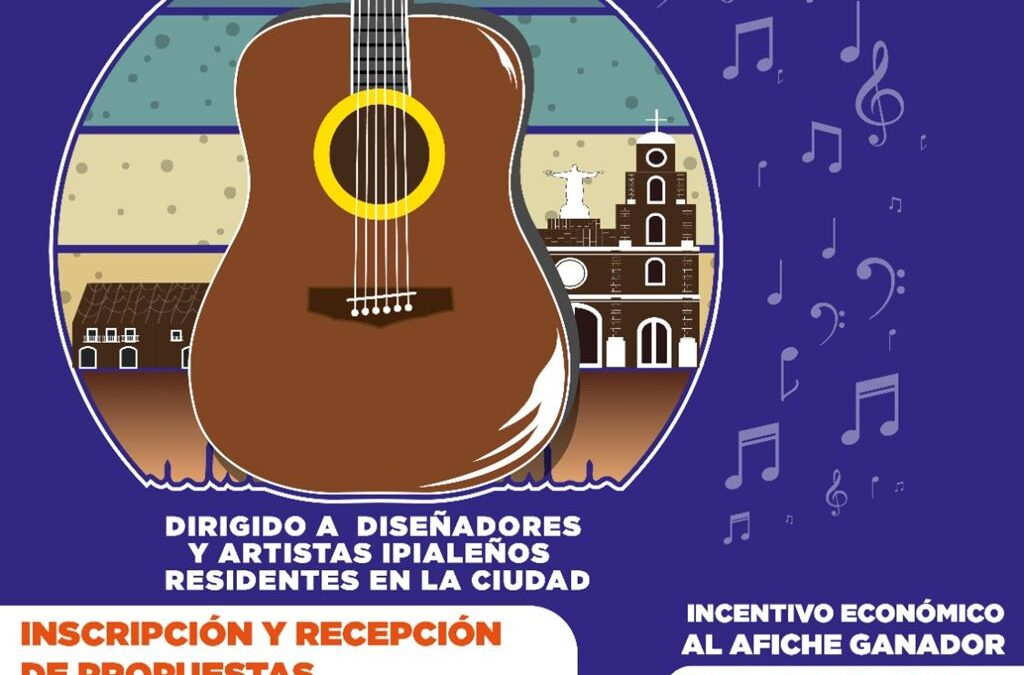 Concurso de afiche promocional del Festival de Tríos en Ipiales