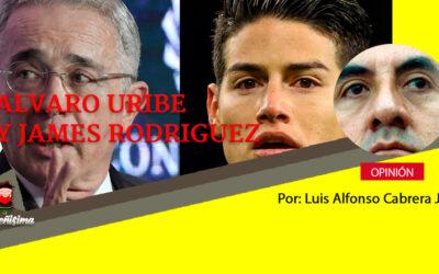 ALVARO URIBE Y JAMES RODRÍGUEZ