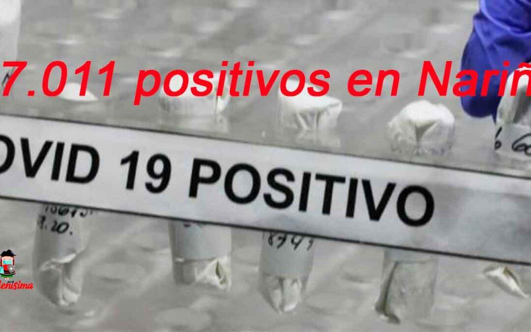 Las cifras de nuevos contagios ha disminuido, sin embargo Nariño arribó a los 87.000 positivos para Covid-19
