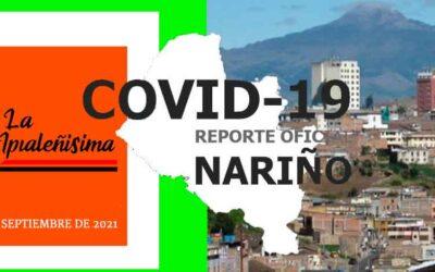 4 de los 64 municipios informan de nuevos positivos para Covid-19. Ipiales hoy reporta cero contagios y cero fallecimientos.