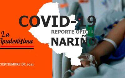 La ocupación de UCI en Nariño es del 47.1%, de las cuales el 16.1% está asignado a pacientes Covid-19.