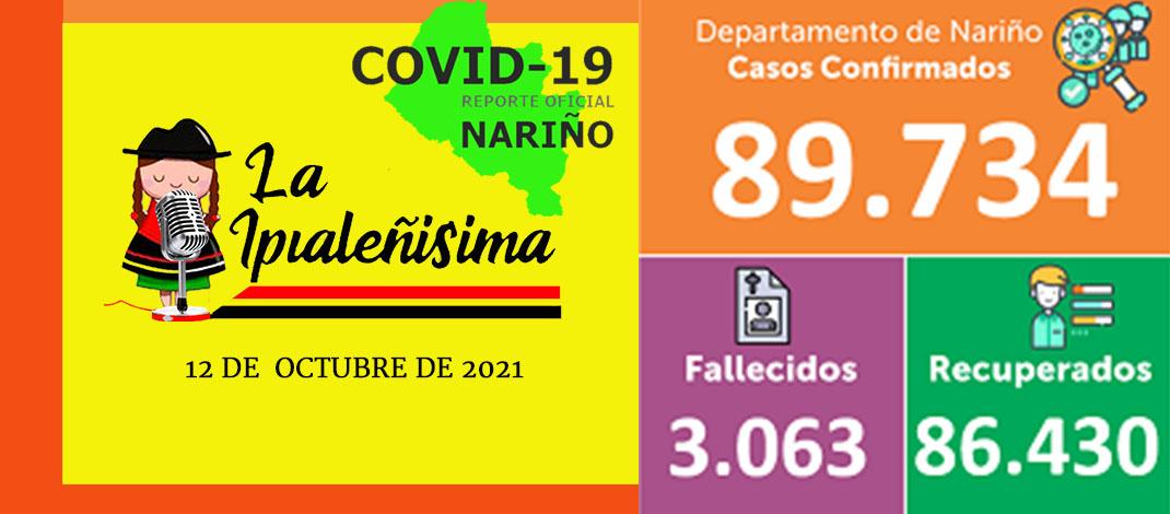 2 decesos y 10 nuevos casos de coronavirus en 4 municipios de Nariño